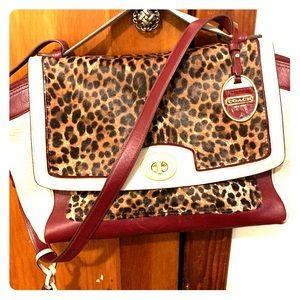Authentic Coach purse. Very unique design.